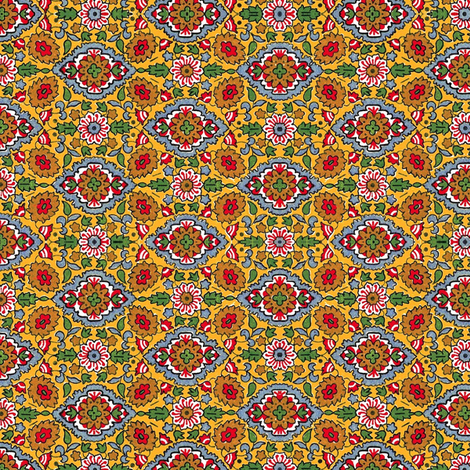 Indian Field fabric by flyingfish on Spoonflower - custom fabric
