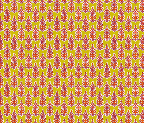 India Sunflowers fabric by flyingfish on Spoonflower - custom fabric