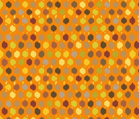fall felted lattice fabric by scrummy on Spoonflower - custom fabric