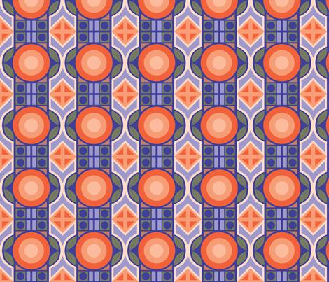 Mod Deco Tropical fabric by stufforama on Spoonflower - custom fabric