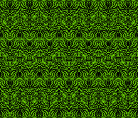 zebra_print_green fabric by glimmericks on Spoonflower - custom fabric