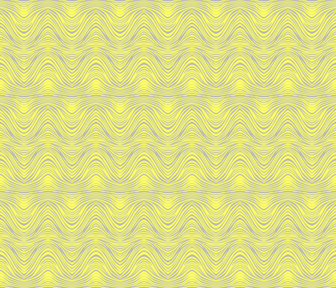 zebra_print_lemon_gray fabric by glimmericks on Spoonflower - custom fabric