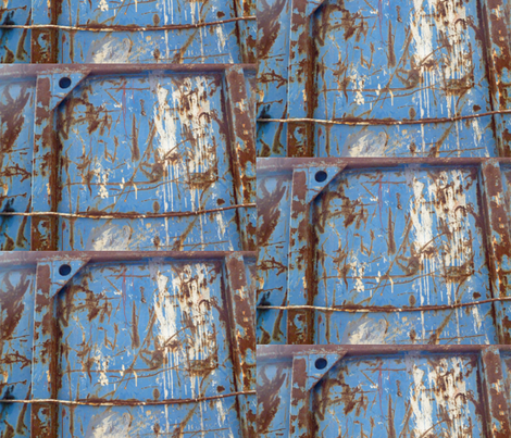 Shipping Container in Front of the Louvre, 6 fabric by susaninparis on Spoonflower - custom fabric