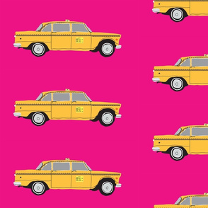 NYC_cab_on_hot_pink2