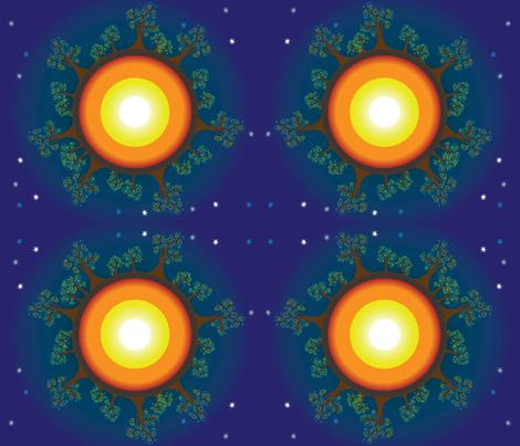 earth fabric by lerhyan on Spoonflower - custom fabric