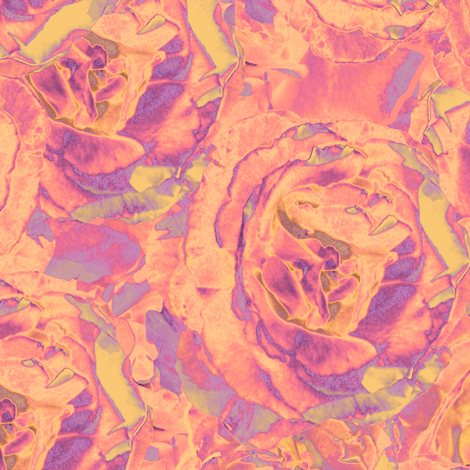 Warhol_Roses fabric by dana_zurzolo on Spoonflower - custom fabric