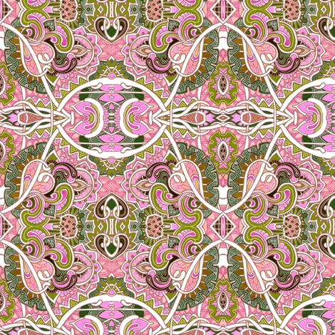 Beyond the Paisley Paths fabric by edsel2084 on Spoonflower - custom fabric