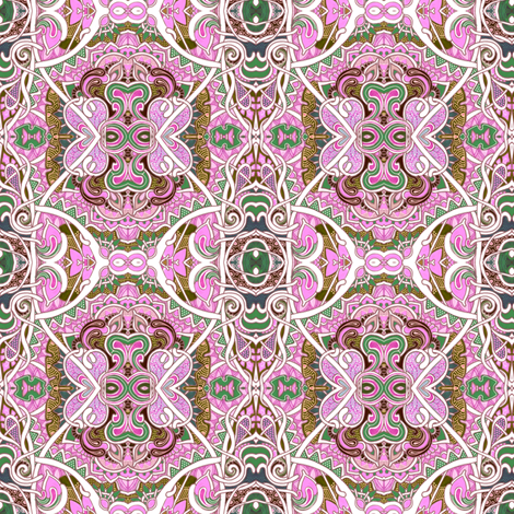Go, Granny, Go fabric by edsel2084 on Spoonflower - custom fabric
