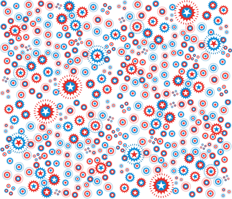 FourthOfJuly fabric by scifiwritir on Spoonflower - custom fabric
