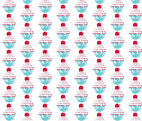 With a Cherry on Top fabric by karenharveycox on Spoonflower - custom fabric