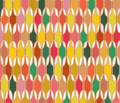 LOZZY fall fabric by scrummy on Spoonflower - custom fabric