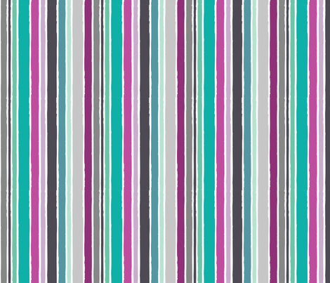 Dreams - Dream Stripe fabric by rosiesimons on Spoonflower - custom fabric
