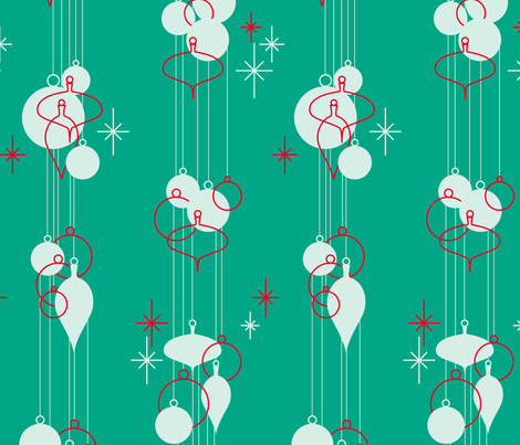 Nifty Ornaments 2 fabric by jwitting on Spoonflower - custom fabric