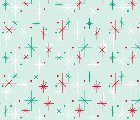 Nifty Stars fabric by thecalvarium on Spoonflower - custom fabric
