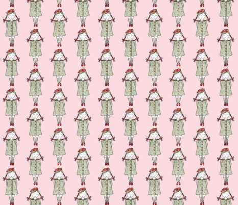 Beautiful_Rosa fabric by evelynrosedesigns on Spoonflower - custom fabric