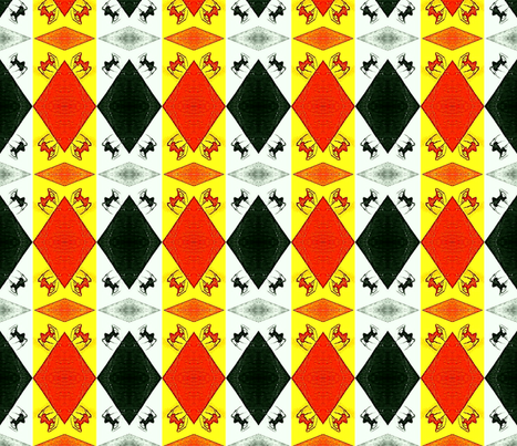 Candy Corn Creepers fabric by krussimages on Spoonflower - custom fabric