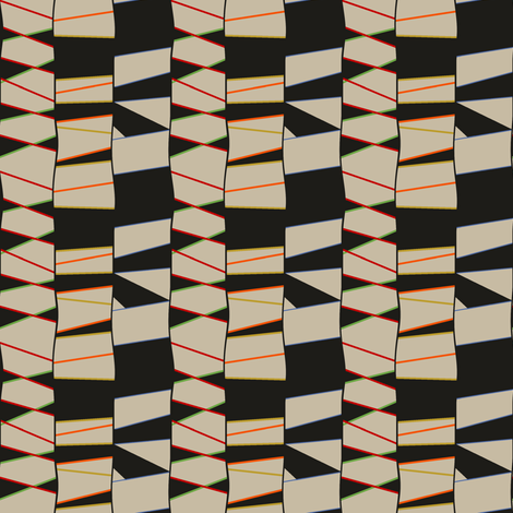 Black Birch fabric by david_kent_collections on Spoonflower - custom fabric