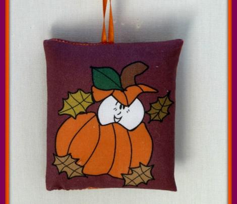 Cut and Sew Pumpkin Ornament Favor