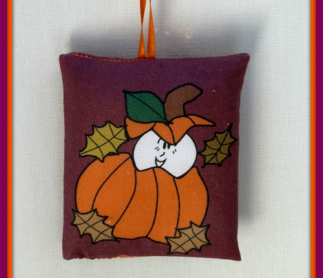 Cut and Sew Pumpkin Ornament Favor