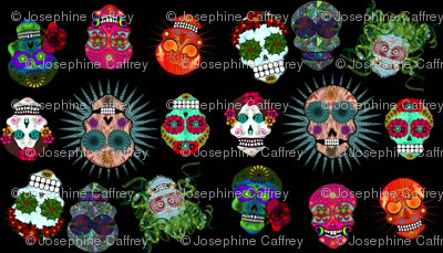 sugar skulls