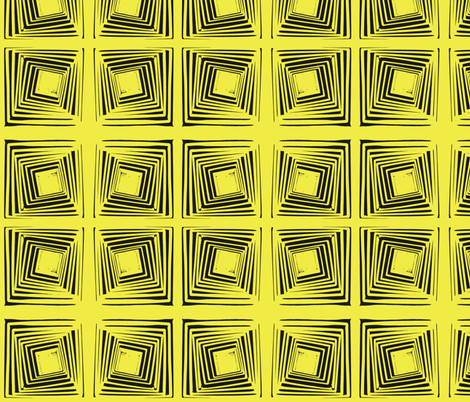 Stacked Yellow fabric by blue_jacaranda on Spoonflower - custom fabric