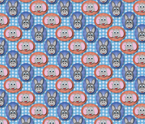 Politically Cute fabric by jjtrends on Spoonflower - custom fabric