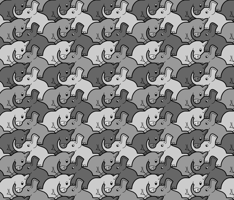 eledonk 1a in 3 fabric by sef on Spoonflower - custom fabric