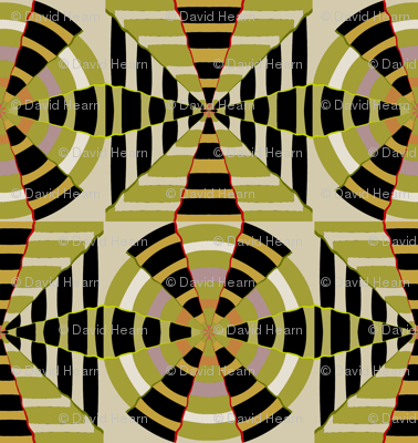 Tribal Compass Cloth