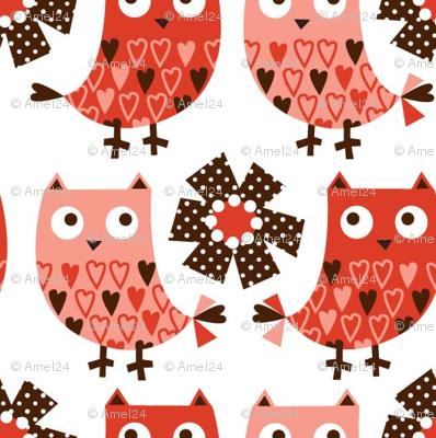 Tweety Chirp Hoot Pink 04