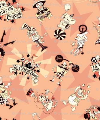 Cirque Noir Vintage Pink Mini