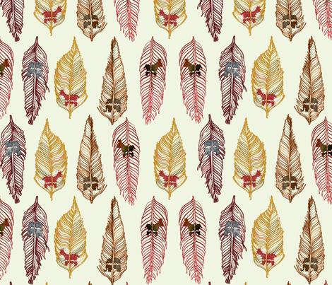 DONKEYS & ELEPHANTS fabric by whiteduck on Spoonflower - custom fabric