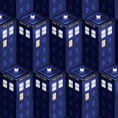 Tardis Cubism