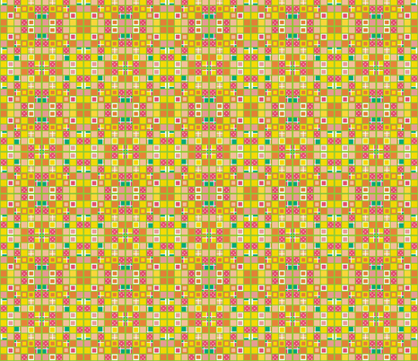 Color grid 31 variation B by Su_G fabric by su_g on Spoonflower - custom fabric