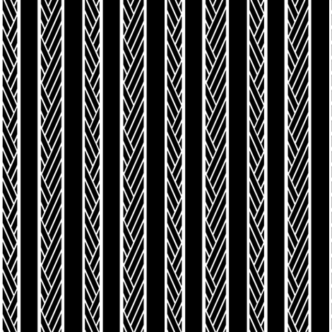 Herringbone Stripe II. Inverted fabric by pond_ripple on Spoonflower - custom fabric