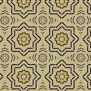 Moroccan Block Print (Camel)