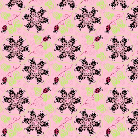 Don't Bug Me Swirl fabric by kari_d on Spoonflower - custom fabric