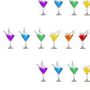 Rainbow Martinis