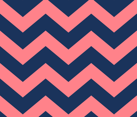 chevron_blue_and_coral