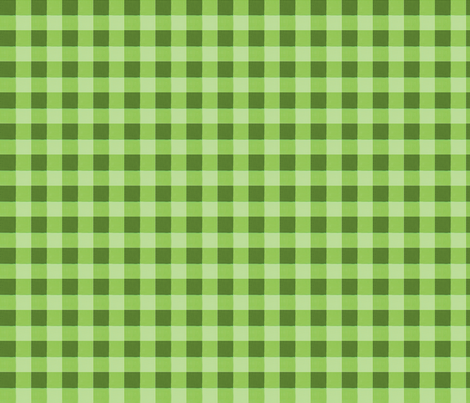 olive green gingham fabric by mojiarts on Spoonflower - custom fabric