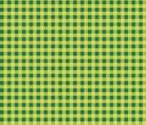 olive green gingham 2 fabric by mojiarts on Spoonflower - custom fabric