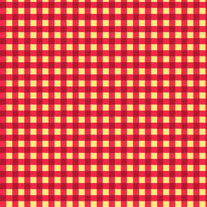red gingham 3