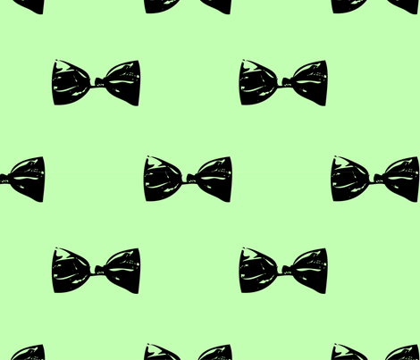 mint bows  fabric by bellalani on Spoonflower - custom fabric