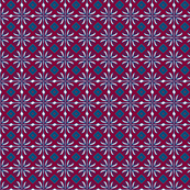 daisy tile too: dark red square
