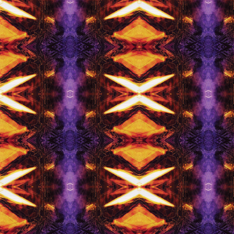 Graffiti Purple and Yellow fabric by mikep on Spoonflower - custom fabric