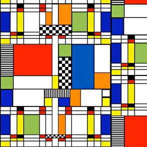 Mondrianish