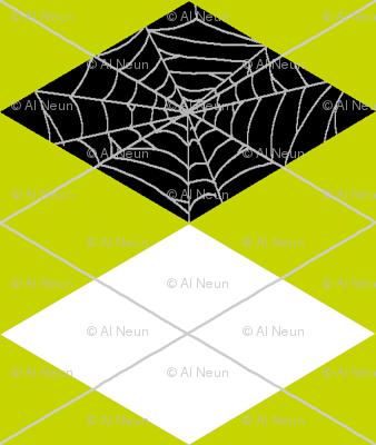 Spiderweb Argyle - Green