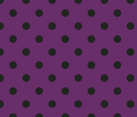 Polkas in merlot fabric by domesticate on Spoonflower - custom fabric