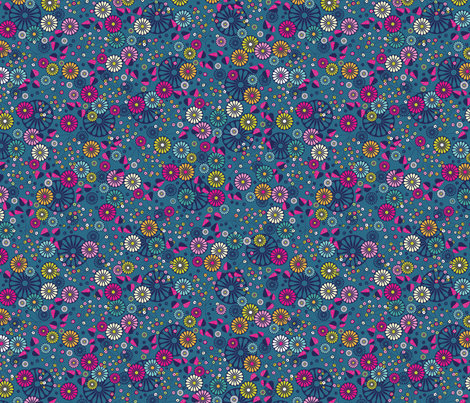 Deco Fashionista- Gloria fabric by cynthiafrenette on Spoonflower - custom fabric