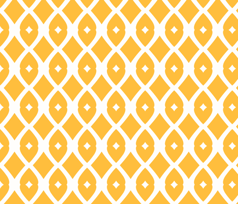 Chain Link 22 (Mango) fabric by pattyryboltdesigns on Spoonflower - custom fabric