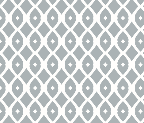 Chain Link 22 (Gull Grey) fabric by pattyryboltdesigns on Spoonflower - custom fabric